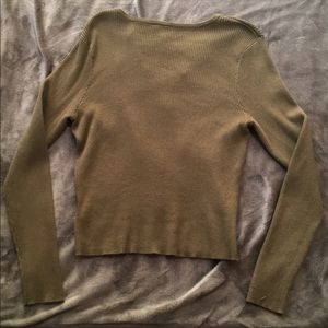 H&M Sweaters - Make an offer! 🔥H&M lace up long sleeve sweater